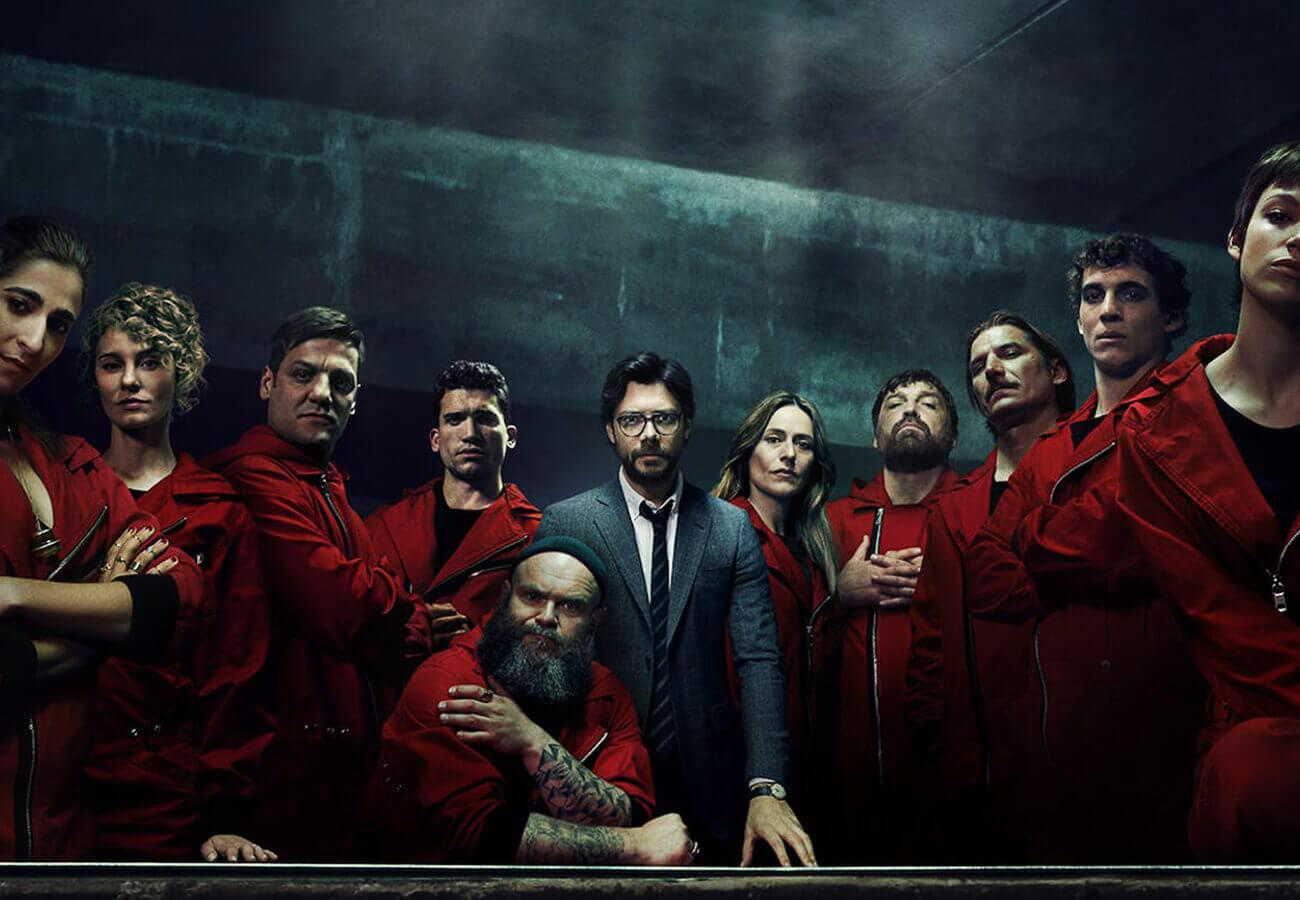 Casa de Papel på Netflix