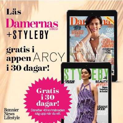 30 dagars kostnadsfri läsning av Damernas Värld digitalt i ARCY