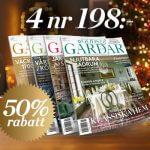 Gods & Gårdar - 4 nr för endast 198kr