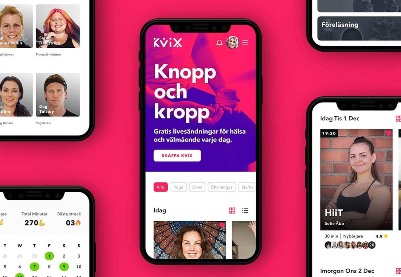 Kvix appen