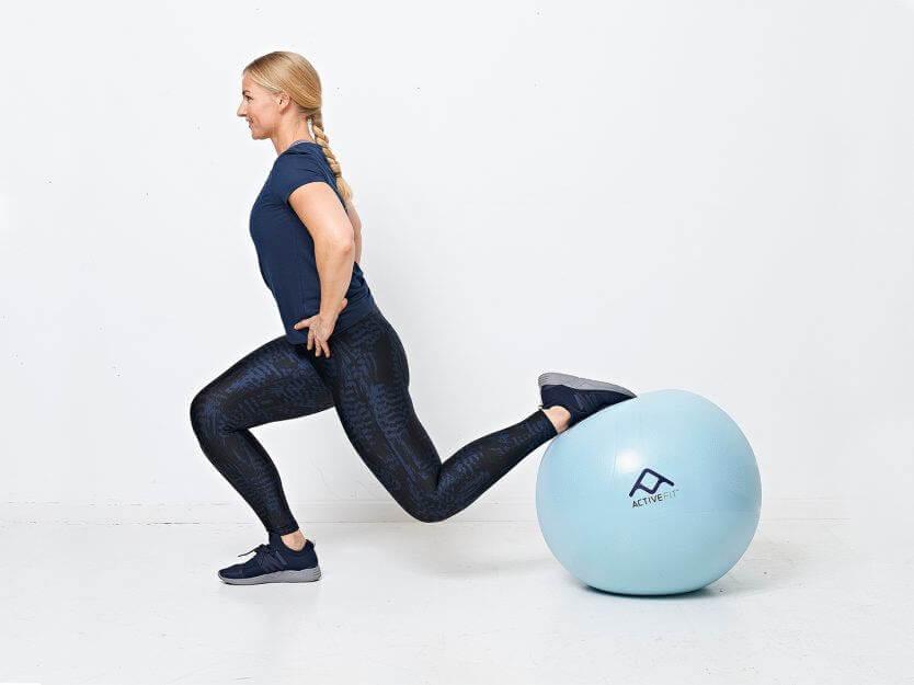övningar med bollen