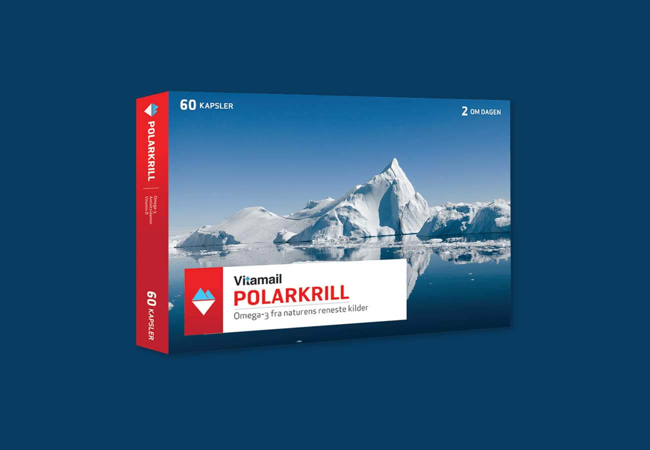 Polarkrill förpackning